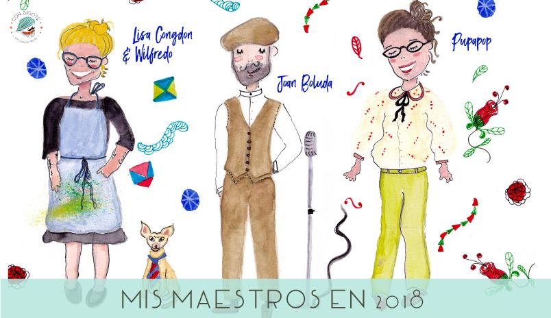 Maestros que me ayudaron a emprender en 2018 blog con bigote