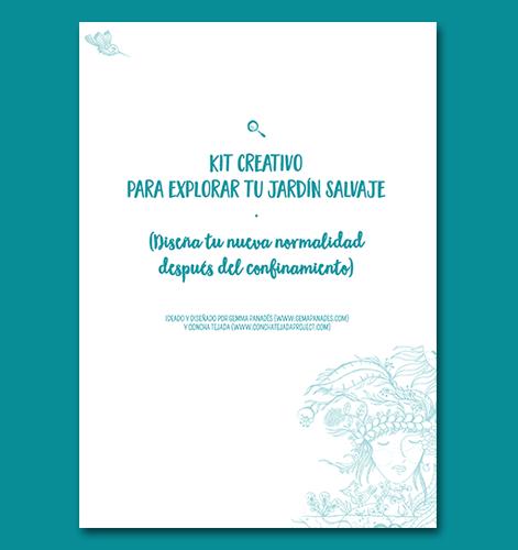 Kit creativo para crear tu nueva realidad con Gemma Panades y concha tejada