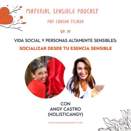 vida social y personas altamente sensibles podcast sobre alta sensibilidad